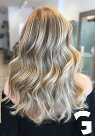 Balayage and hair cut