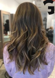 Boho chic balayage and cut 1