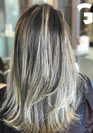Honey blonde balayage by Nigel2