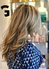 Tish did her magic again, blonde balayage