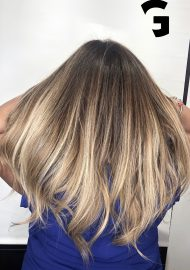 light blonde ombré balayage