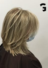 sun kiss blonde balayage